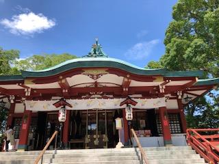 多摩川の浅間神社